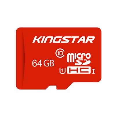 کارت حافظه microSDHC کینگ استار کلاس ۱۰ استاندارد UHS-I U1 سرعت ۸۵MBps ظرفیت 64 گیگابایت