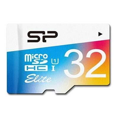 کارت حافظه microSDXC سیلیکون پاور مدل Color Elite کلاس ۱۰ استاندارد UHS-I U1 سرعت ۸۵MBps همراه با آداپتور SD ظرفیت 32 گیگابایت