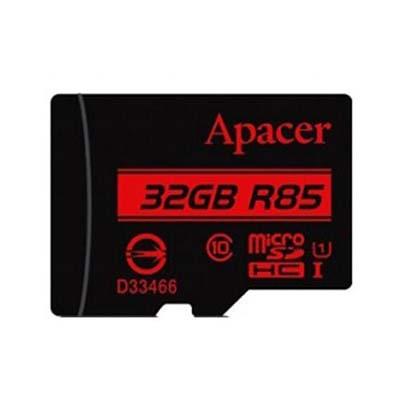کارت حافظه microSDHC اپیسر کلاس 10 استاندارد UHS-I U1 سرعت 85MBps به همراه آداپتور ظرفیت 32 گیگابایت