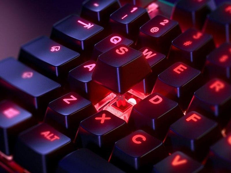 سوئیچهای صفحه کلید کامپیوتر در راهنمای خرید کیبورد کامپیوتر