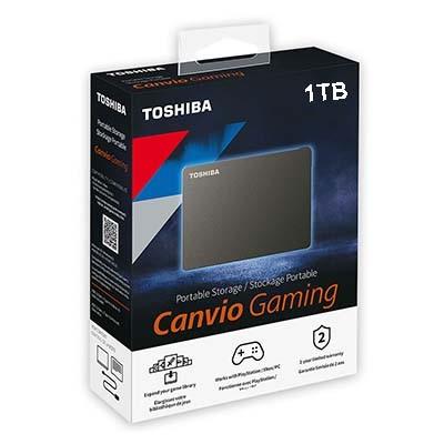 هارد اکسترنال توشیبا مدل Canvio Gaming ظرفیت 1 ترابایت