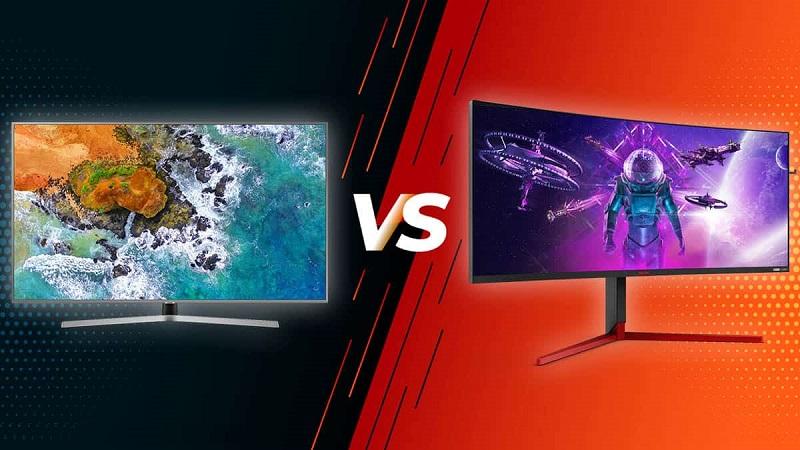 برای بازی کدام را انتخاب کنیم؟ تلویزیون یا مانیتور