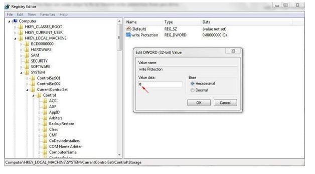 5 روش حل مشکل Write Protection فلش مموری ؛ کارت حافظه؛ هارد اکسترنال
