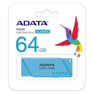 فلش مموری ای دیتا مدل Adata UV230 ظرفیت 64 گیگابایت