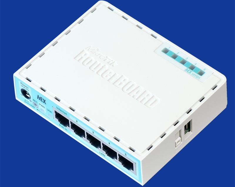 معرفی اجمالی روتر میکروتیک مدل hEX RB750GR3