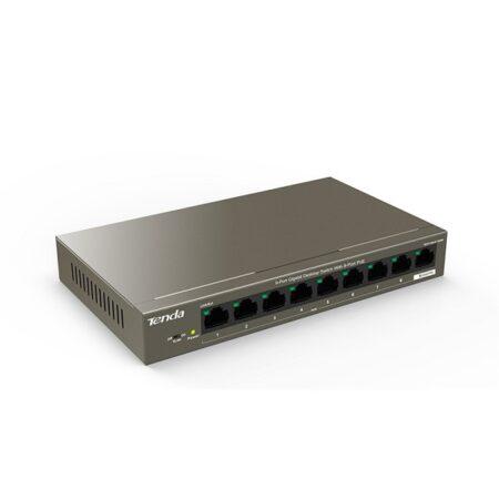 سوئیچ 9 پورت گیگابیتی دسکتاپ PoE تندا مدل TEG1109P-8-102W