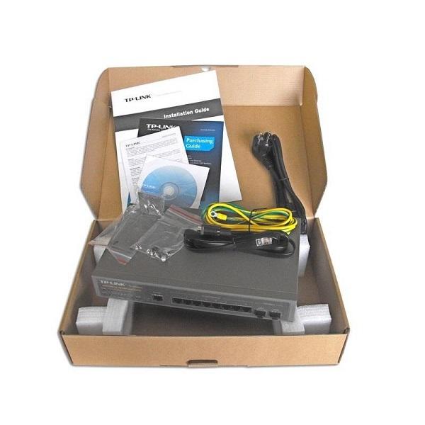 سوئیچ 8 پورت گیگابیتی تی پی لینک مدل TL-SG3210
