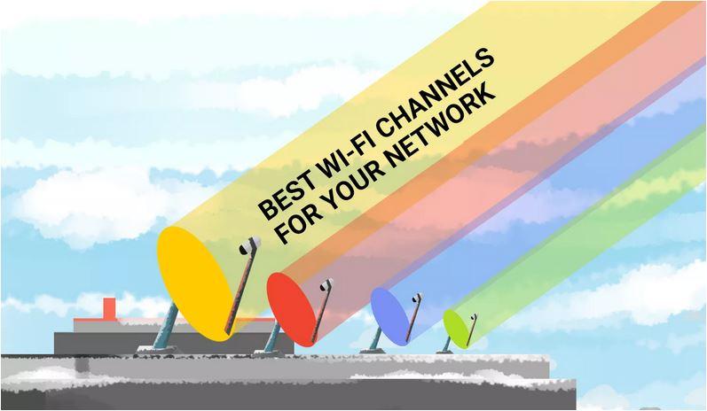 چگونه بهترین کانال های Wi-Fi را برای شبکه خود انتخاب کنیم؟