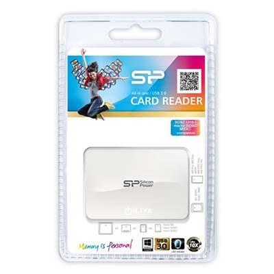 کارت خوان سیلیکون پاور مدل All In One Card Reader USB 3.0