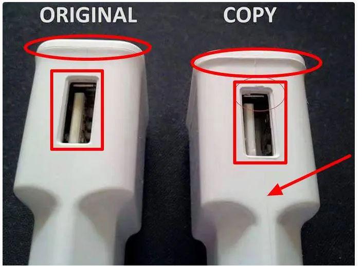 شارژر فیک چیست؟ 11 تفاوت شارژر اصلی و تقلبی