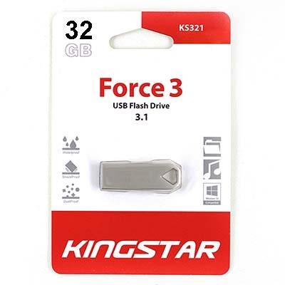 فلش مموری کینگ استار مدل KS321 ظرفیت 32 گیگابایت