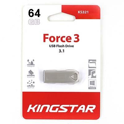 فلش مموری کینگ استار مدل KS321 ظرفیت 64 گیگابایت