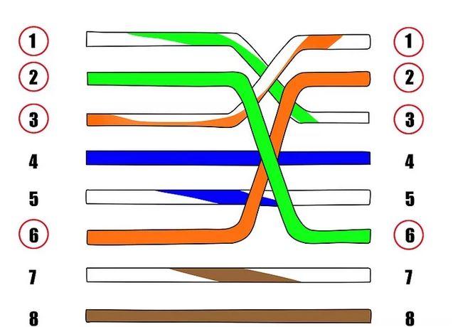آموزش نحوه سوکت زدن کابل شبکه کراس و استریت در 11 مرحله ساده