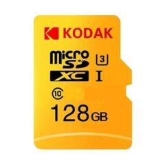 کارت حافظه microSDXC کداک مدل Premium Performance کلاس ۱۰ استاندارد UHS-I U1 سرعت ۸۵MBps ظرفیت 128 گیگابایت