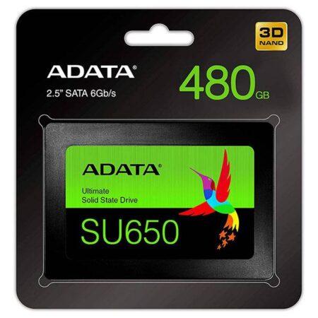 اس اس دی 480 گیگابایت ای دیتا SU650