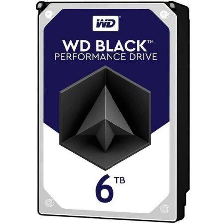 هارددیسک اینترنال 6 ترابایتی وسترن دیجیتال مدل Black WD6003FZBX