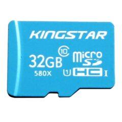 کارت حافظه microSDHC کینگ استار کلاس ۱۰ استاندارد UHS-I U1 ظرفیت 32 گیگابایت