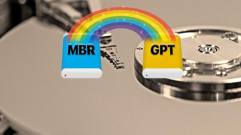 آموزش 2 روش تبدیل MBR به GPT در ویندوز بدون از بین رفتن اطلاعات