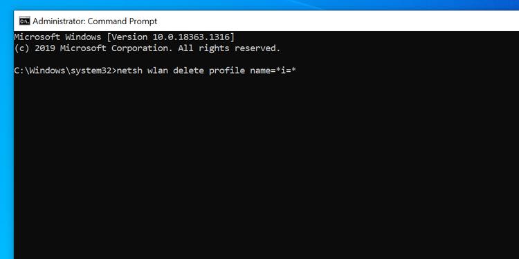 آموزش 4 روش Forget کردن یا حذف شبکه وای فای در ویندوز 10