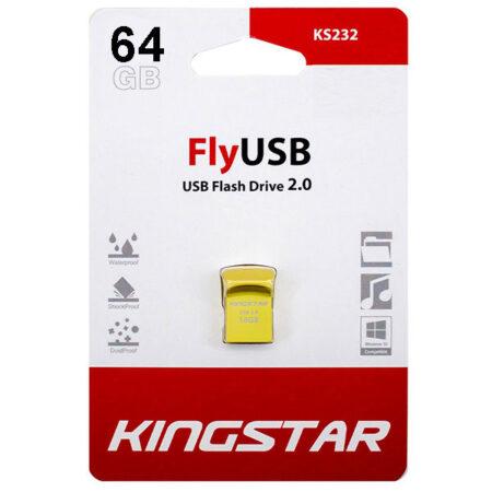 فلش مموری 64 گیگابایت کینگ استار KS232