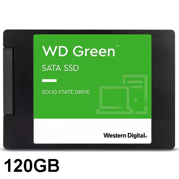 حافظه اس اس دی 120 گیگابایت وسترن دیجیتال Green WDS120G2G0A