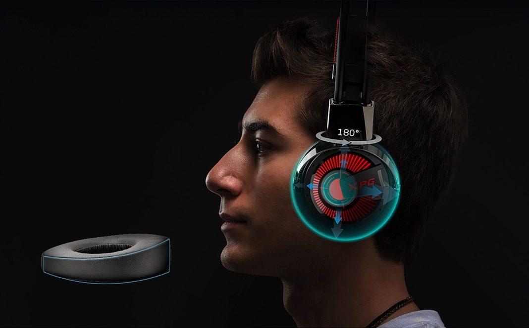 xpg precog headset gaming