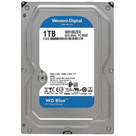 هارد اینترنال 1 ترابایت وسترن دیجیتال WD10EZEX - آبی