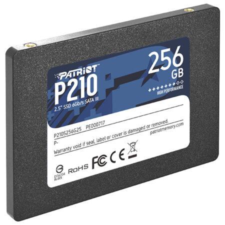 حافظه اس اس دی 256 گیگابایت پاتریوت P210