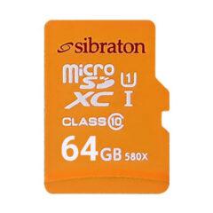 کارت حافظه 64 گیگابایت سیبراتون سرعت 85MBps