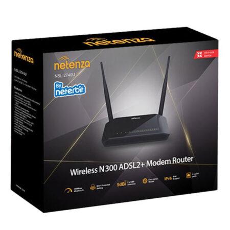 مودم روتر ADSL2 Plus نتربیت Netenza NSL-2740U
