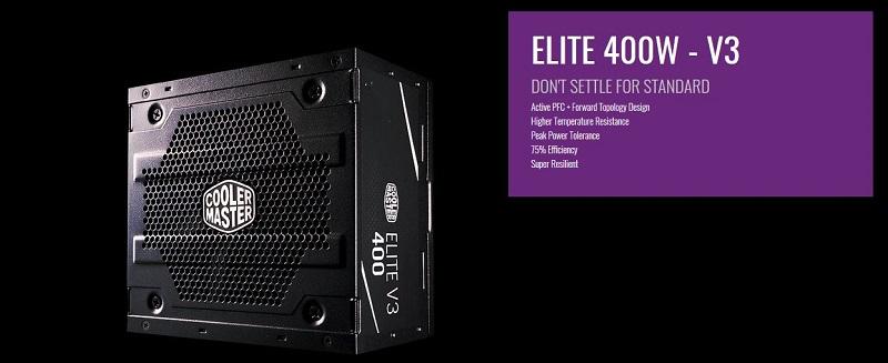پاور کامپیوتر 400 واتی کولرمستر مدل Elite V3