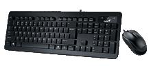 کیبورد Genius KM-C130 USB Slim Star Keyboard & Mouse