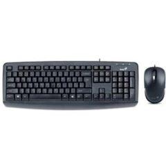 کیبورد  Genius KM-130 USB Keyboard and Mouse With Persian Letters