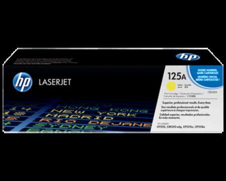 کارتریچ HP 125A Yellow Print