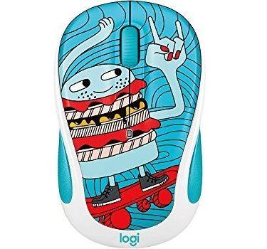 موس بی سیم لاجیتک Doodle Collection M238 Skateburger