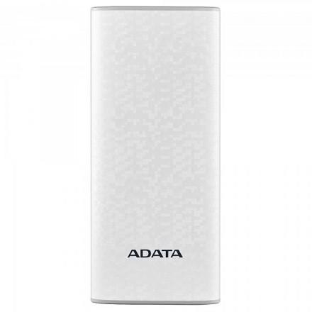 شارژر همراه ای دیتا مدل P10000 ظرفیت 10000 میلی آمپر ساعت - سفید