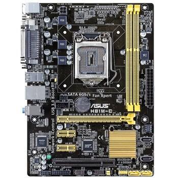 مادربرد ASUS H81M-C Motherboard