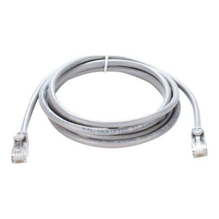 پچ کابل شبکه ضد حریق Cat6 UTP دو متری D-Link مدل NCB-C6UGRYR1-2