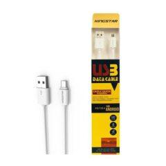 کابل تبدیل USB به microUSB کینگ استار مدل  KS120 A طول 1.2 متر