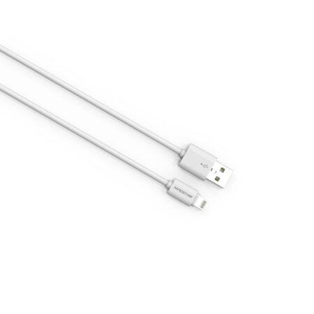 کابل تبدیل Lightning به USB کینگ استار مدل KS01 i طول 2 متر
