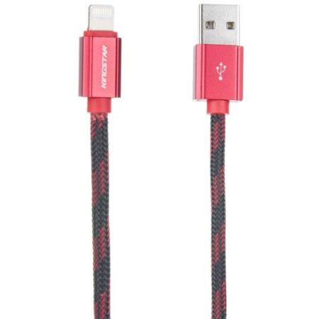 کابل تبدیل USB به Lightning کینگ استار مدل KS23 i طول 1 متر