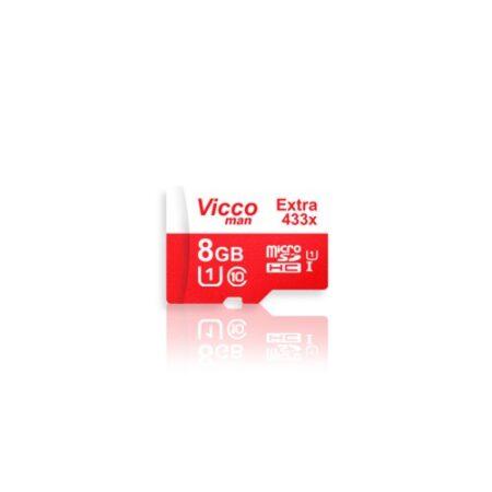 کارت حافظه ویکومن مدل Extra 433X کلاس 10 ظرفیت 8 گیگابایت