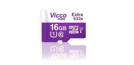 کارت حافظه ویکومن مدل Extra 533X کلاس 10 ظرفیت 16 گیگابایت