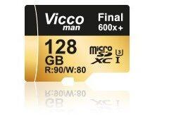 کارت حافظه ویکومن مدل Final 600x کلاس 10 ظرفیت 128 گیگابایت
