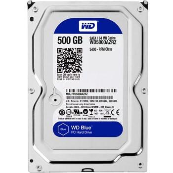 هارد Western Digital Blue WD5000AZRZ Internal Hard Drive - 500GB