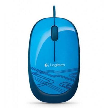 موس Logitech M105 Corded Optical Mouse Blue