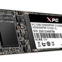 اس اس دی اینترنال ایکس پی جی مدل SX6000 M.2 2280 ظرفیت 512 گیگابایت