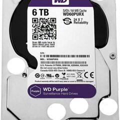 هارد اینترنال وسترن دیجیتال WD Purple 6TB 64MB Buffer