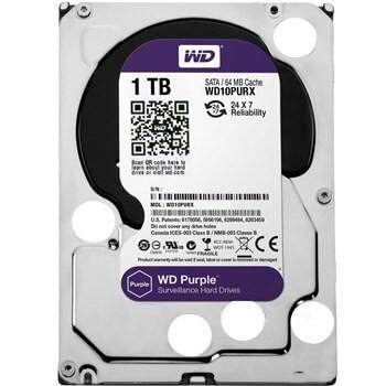 هارد Western Digital Purple WD10PURX Internal Hard Drive - 1TB